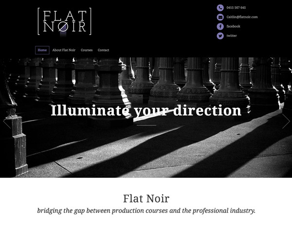 You are currently viewing Flat Noir