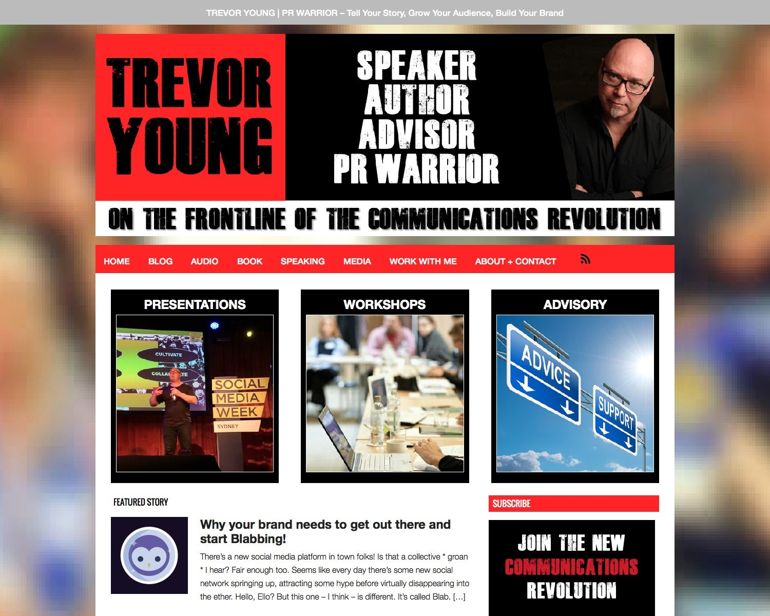 You are currently viewing Trevor Young