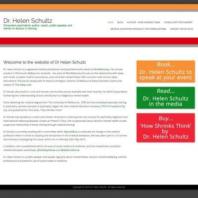 Dr. Helen Schultz