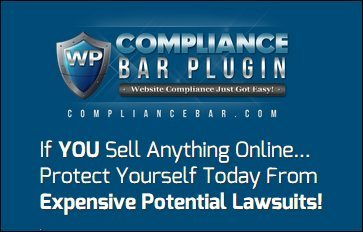 Compliance Bar – Total Legal Website Compliance And Disclaimer Solution