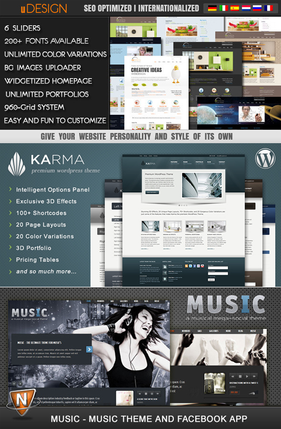 ThemeForest - Premium WordPress Themes