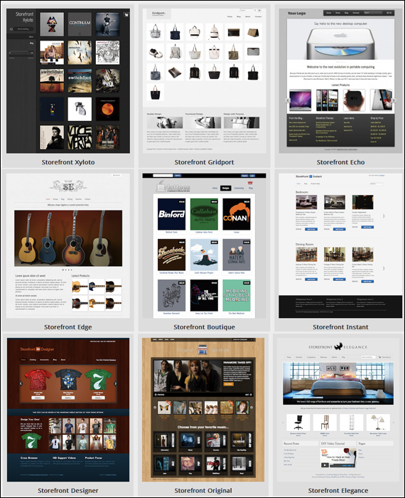 StoreFront Themes