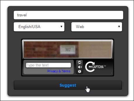 Ubersuggest.org - Keyword Tool