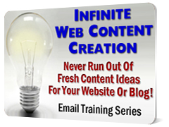 Content Creation Email Training Series