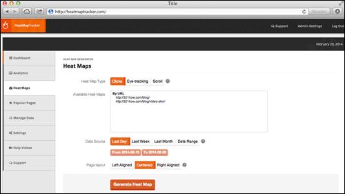 HeatMap Tracker
