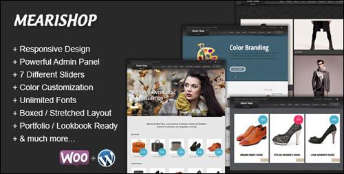 Mearishop - WordPress eCommerce Theme