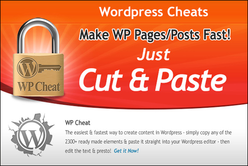 WPCheat - Faster Web Content Creation