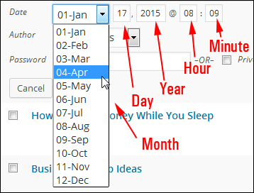 How To Schedule WP Posts