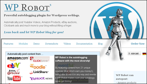 WPRobot - WordPress Plugin