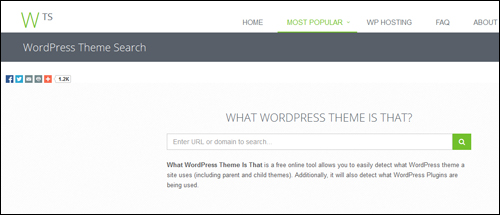 WhatWPThemeIsThat.com - WordPress Theme Checking Tool