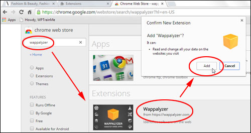 Wappalyzer - Browser Extension (Firefox / Chrome)