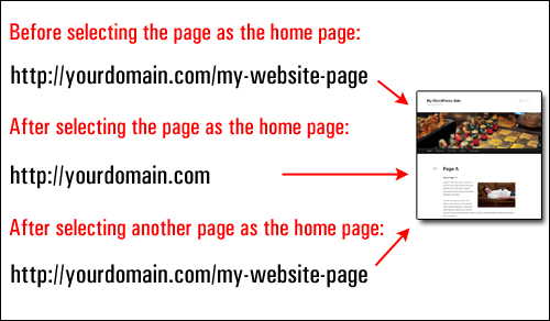 How To Make Any Page Be The Home Page Of Your WP Site