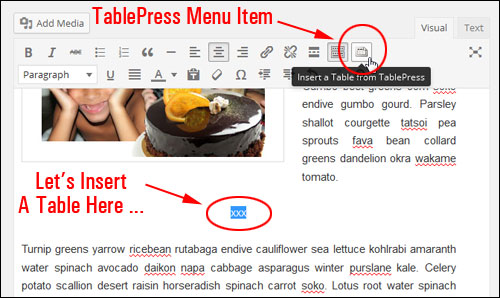 How To Add Tables To WordPress