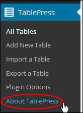 Creating And Inserting Tables Into Pages And Posts With WordPress