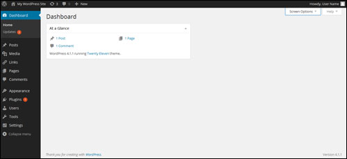 Customizing The WordPress Dashboard