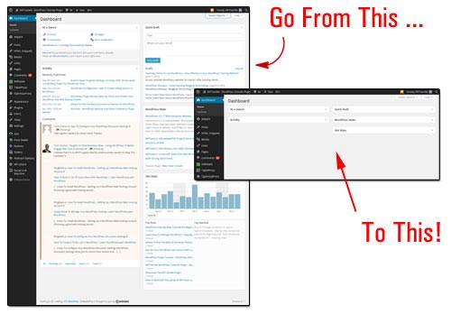 Customizing The WP Dashboard Screen