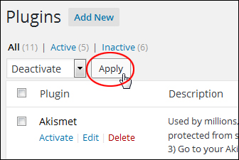 Updating And Deleting WordPress Plugins Safely
