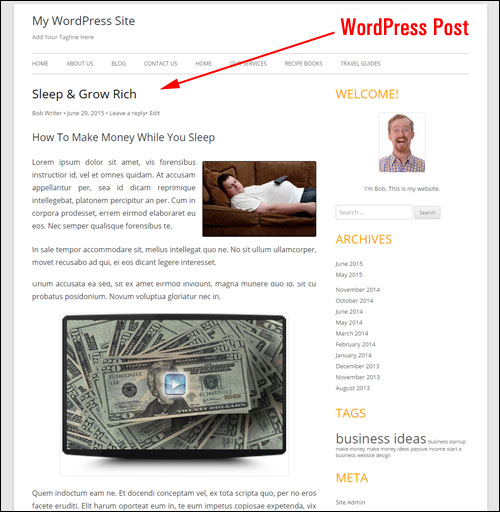 How To Create A Post In WordPress - A Step-By-Step Guide For WordPress Beginners